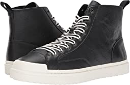 C214 Hi Top Sneaker Pebbled