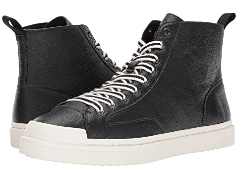 COACH C214 Hi Top Sneaker Pebbled