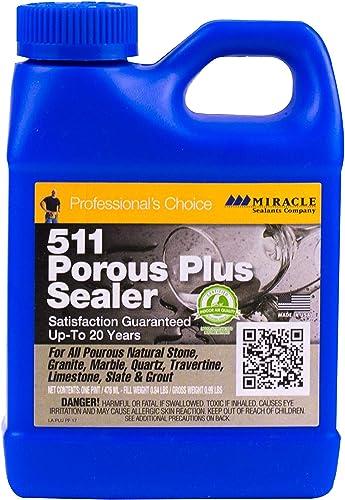 wholesale 2 Lot Brand Miracle Sealants outlet online sale Model PLUSPT6 511 Porous popular Plus Penetrating Sealers online sale