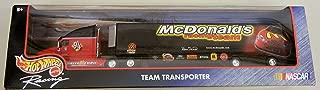 Hot Wheels 1998 NASCAR Team Transporter McDonalds Racing Team 1:64
