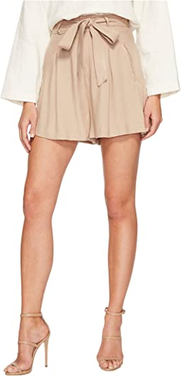 BB Dakota - Edmond High-Waisted Shorts