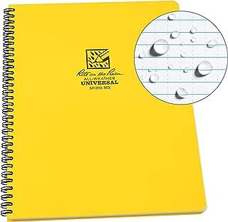 Rite in the Rain Weatherproof Side-Spiral Notebook, 8 1/2