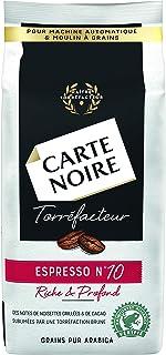 Carte Noire Grains Torréfacteur n°10, Café en Grains Pur Arabica, Paquet de 500g