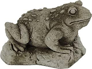 Toad Garden Statues Cement Frog Sculptures Cast Stone Frogs Figurines