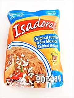 Isadora Refried Beans Pouch (Pack of 2) - 15.2 Ounce