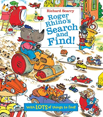 Richard Scarry Roger Rhino's Search and Find!: With LOTS of things to find!