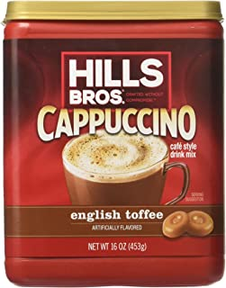 sugar free english toffee cappuccino mix