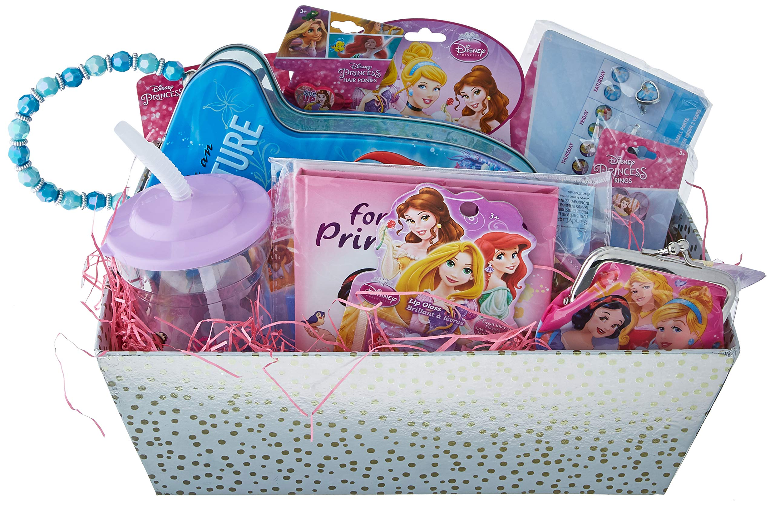 Easter Gift Baskets u2013 Disney Princess Themed Holiday Gifts Idea for Girls Wish her During Birthday  sc 1 st  Amazon.com & Gift Baskets for Children: Amazon.com