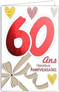 Amazonfr Cadeau Anniversaire Femme 60 Ans