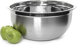 YBMHOME DEEP PROFESSIONAL QUALITY STAINLESS STEEL MIXING BOWL FOR SERVING MIXING BAKING OR COOKING 1192 (1, 16 Quart)