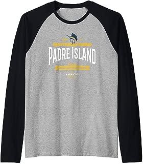 South Padre Island Texas Tshirt TX Gift Men Women Kid's Tee Raglan Baseball Tee