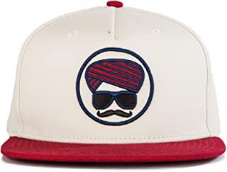 a5098f61c0a Urban Monkey Premium Red Adjustable look(gangster af) Baseball Turban  Snapback Free Size Unisex
