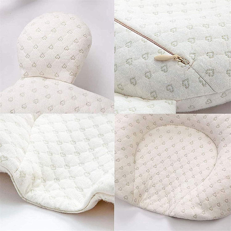 1 Piece Muitar Soft Baby Nursery Pillows Unisex Newborns Head Shaping Infant Support Sleeping Head Sleep Pillows with Bear Ears