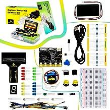 KEYESTUDIO Microbit Coding Starter Kit for BBC Micro:bit Accessories STEM Kit for Kids Beginners