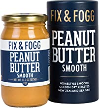 Gourmet Smooth Peanut Butter. All Natural and Project Non-GMO certified from Fix & Fogg. Naturally Textured, our take on C...