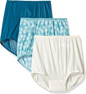Bali Women's 3 Pack Skimp Skamp Brief Panty