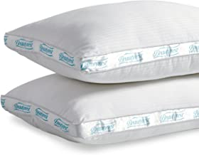 Beautyrest Extra Firm Pillow for Back & Side Sleeper, Two Pack, Queen