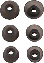 Replacement Ear Tips for Jabra Elite 65t Active 65t Headphone, Rayker Replacement Soft Silicone Ear Tips Earbud Covers for Jabra Elite/Active 65t, 3 Pairs, S/M/L (Gray)