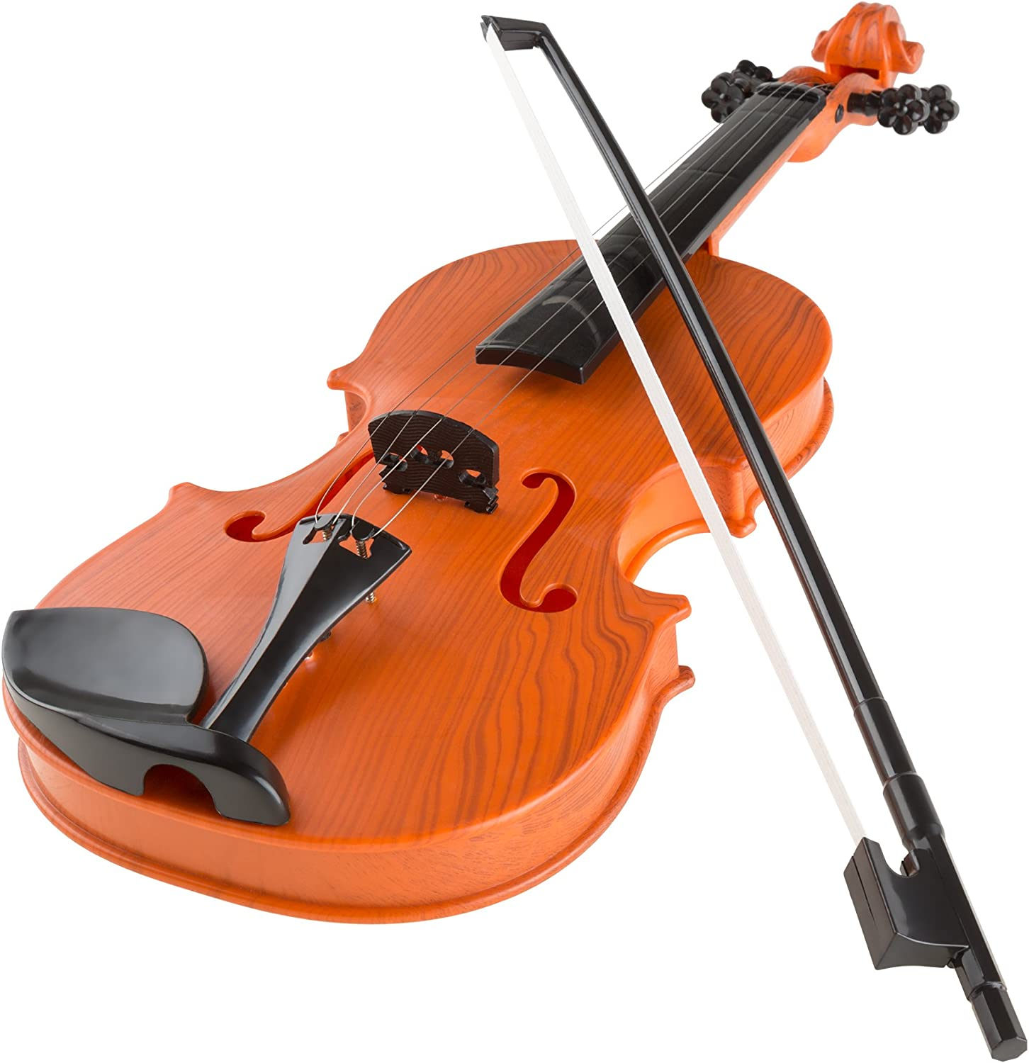 Hey  Play  80HM336840 Musical Toy Violin with Bow BatteryOperated by