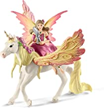 Schleich bayala, 3-Piece Playset, Unicorn Toys for Girls and Boys 5-12 years old, Fairy Feya with Pegasus Unicorn