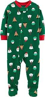 Carter's Baby Boys' 1-Piece Baby Christmas Fleece Pajamas