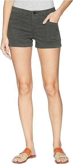 Brona Mid-Rise Cargo Shorts