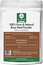 100% Pure & Natural Rose Petal Powder (1/2lb) by Naturevibe Botanicals (8 ounces) | Hair and skincare