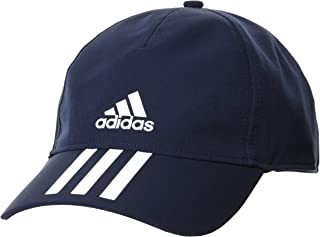 adidas Unisex Aero ready Baseball 3S Adidas 4 Athlts Cap, Blue (Legend Ink/White), OSFY