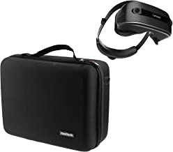 Navitech Black Heavy Duty Rugged Hard Case/Cover with Shoulder Strap Compatible with The Lenovo Mirage and VR Jedi Challenge