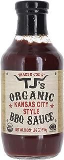 Trader Joe's Organic Kansas City Style BBQ Sauce 18 Oz Bottle