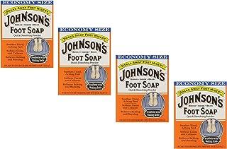 Johnson's Foot Soap Quick Dissolving Powder