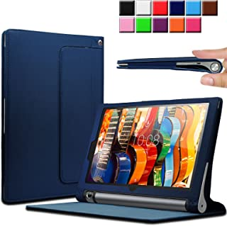 INFILAND Lenovo Yoga Tab 3 10.1-Inch Funda Case, Folio PU ...