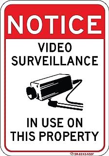 Best property under video surveillance sign Reviews