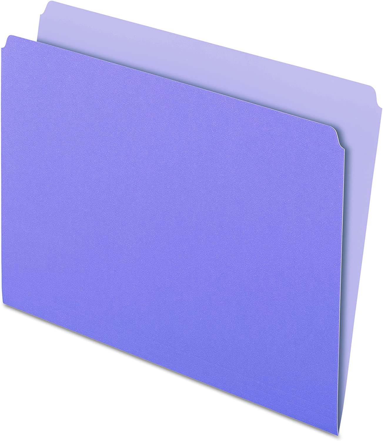 Pendaflex Two-Tone Color File Folders Lavender Letter Size Directly managed Special price for a limited time store St