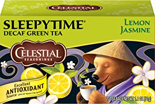 Best celestial seasonings green tea sleepytime decaf lemon jasmine Reviews
