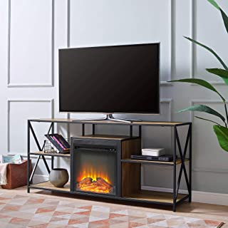 WE Furniture Fireplace TV Stand, 60
