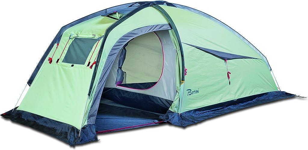 BERTONI Spider Tente de Camping Unisexe pour Adulte Vert gris
