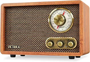 retro radio wood