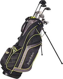 Tour Edge Golf Bazooka Steel Box Full Golf Club Set, Black