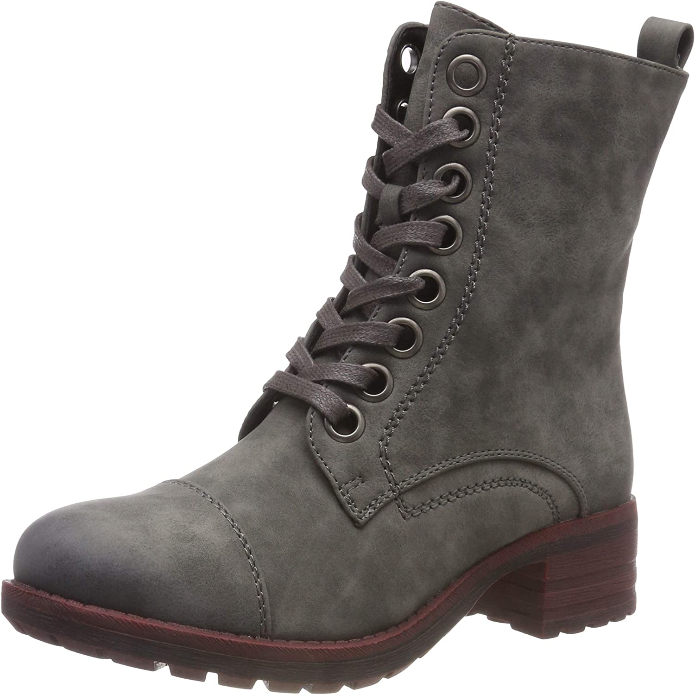 Rieker Women Ankle Boots Grey, (Smoke) 96821-45