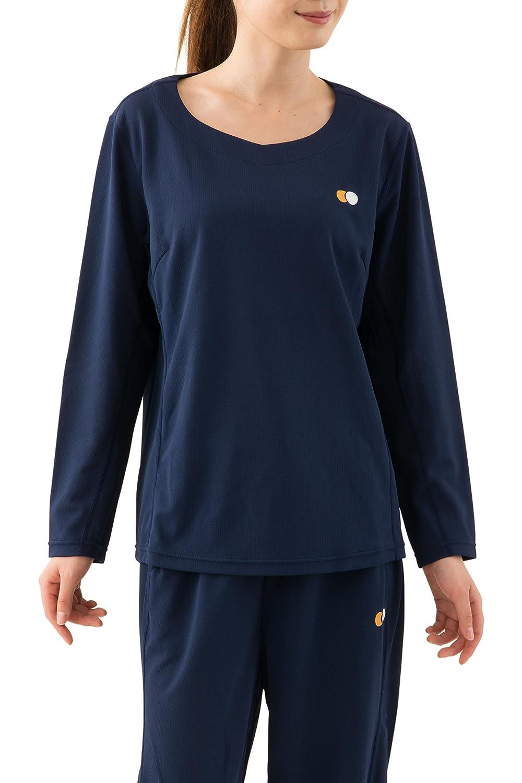 エムール 日本製 快眠に特化した高機能 パジャマ 部屋着 『スリープウェア』 レディース 長袖トップス