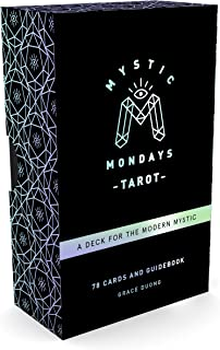 Mystic Mondays Tarot: A Deck for the Modern Mystic (Tarot Cards and Guidebook Set, Card Game Gifts, Arcana Tarot Card Set)