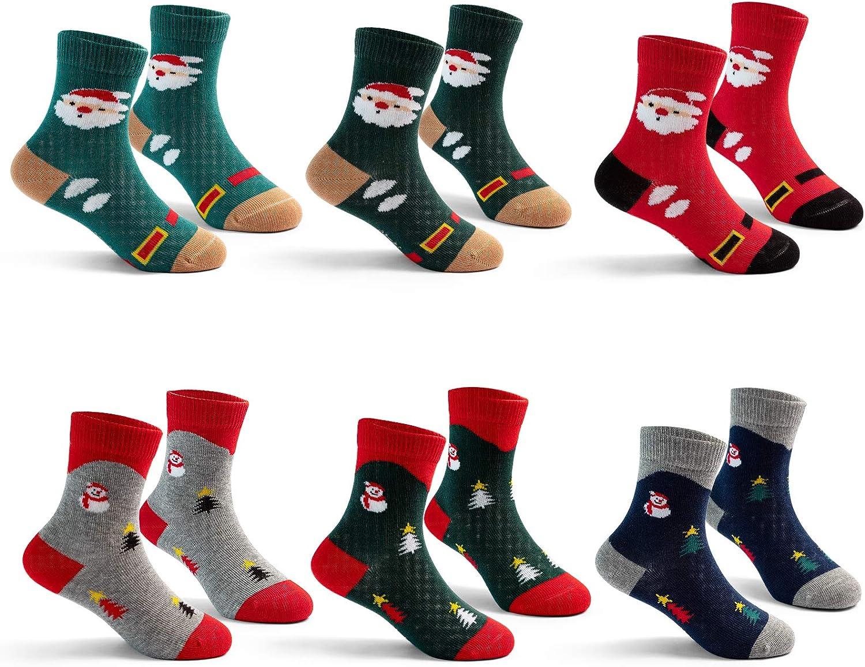 Boys Seamless Socks Kids Cotton Crew Socks Colorful Quarter Socks