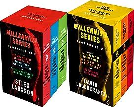 Millennium series 6 Books Complete Collection Box Set by Stieg Larsson & David Lagercrantz (Books 1 - 6)