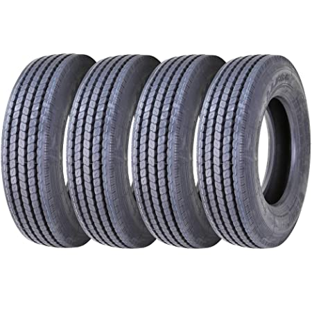 225//70R19.5 14 PLY NEW ROAD CREW T500 RADIAL STEER ALL POSITIONS TIRES 14 PLY 228//126M 1-TIRE