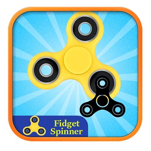 Fidget Spinner Tri-Spinner 3D EDC Emoji design ceramica acciaio giocattolo per bambini