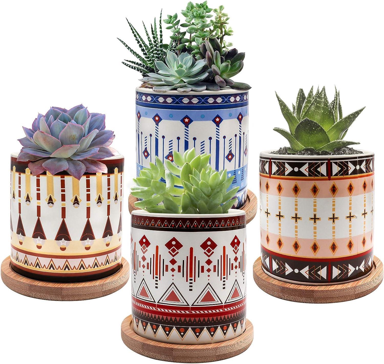 Succulent Pots ! Super beauty product restock quality top! LITMIND 3 Inch Super Special SALE held Small for Succulents Mi Planters