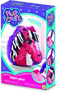 The Orb Factory Plushcraft Pony Pillow