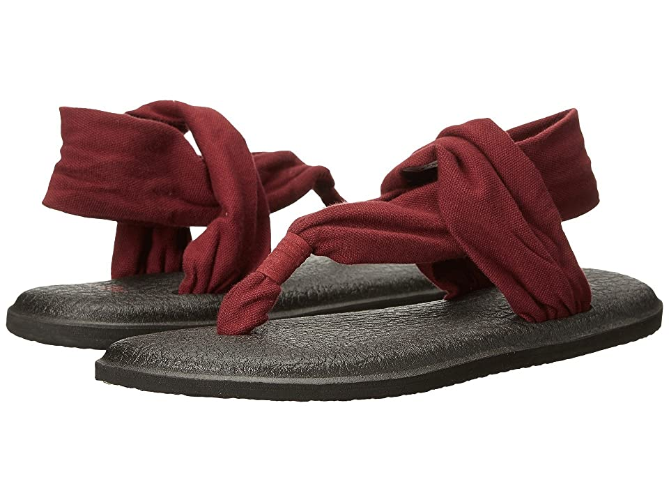 Sanuk Yoga Sling 2 (Burgundy) Women
