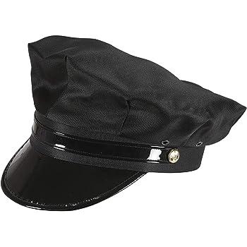 Smiffys-31701 Gorra de chófer, Color Negro, Tamaño único (31701 ...